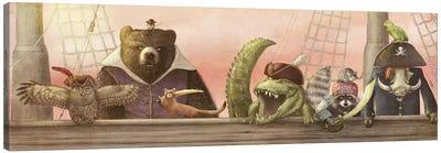 Pirates! Canvas Art Print