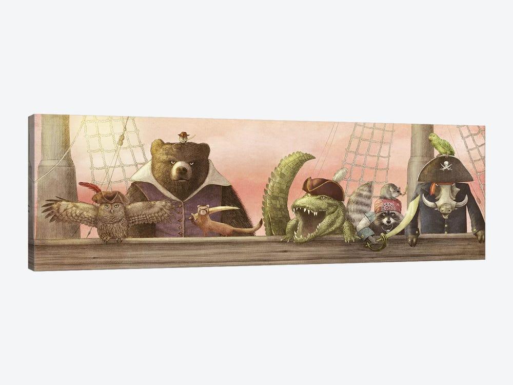 Pirates! by Eric Fan 1-piece Canvas Artwork
