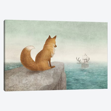 The Antlered Ship Canvas Print #EFN106} by Eric Fan Art Print