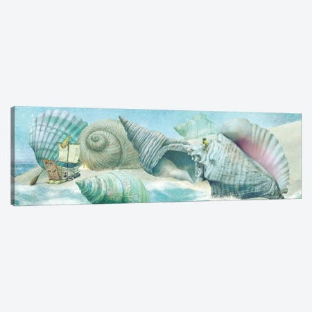 The Island Of Giant Shells Canvas Print #EFN116} by Eric Fan Canvas Art