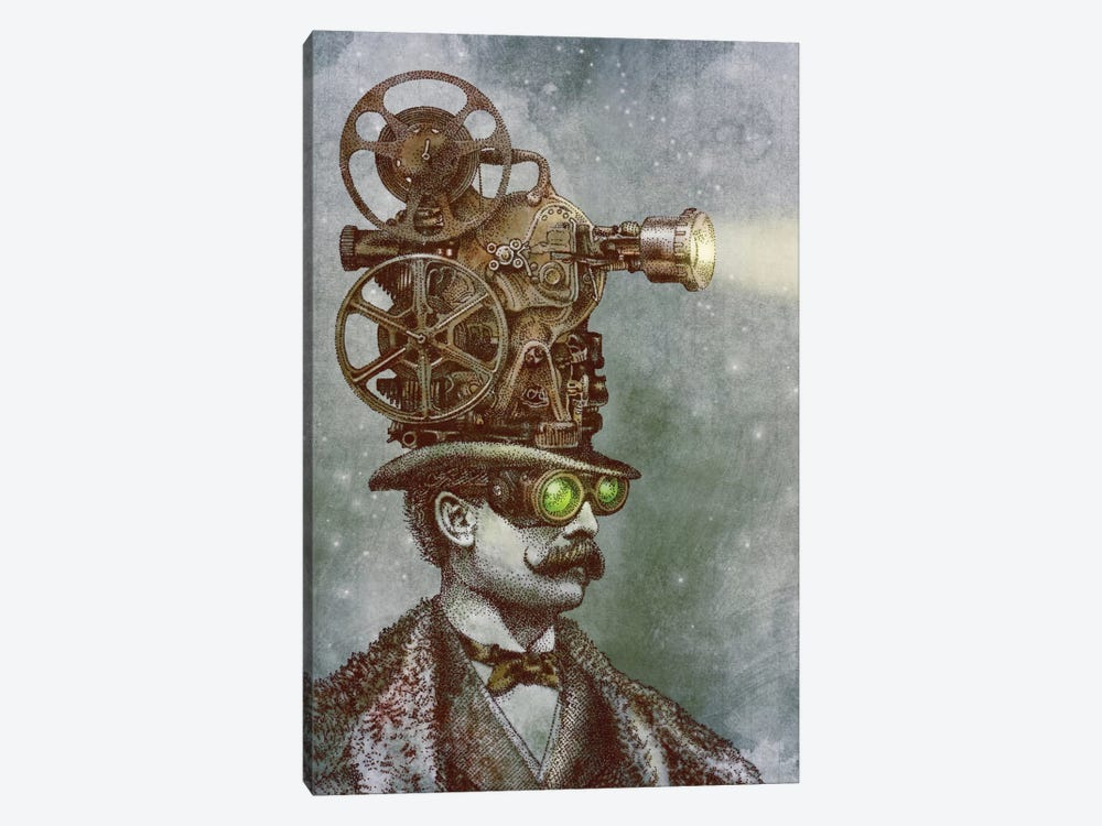 The Projectionist by Eric Fan 1-piece Canvas Wall Art