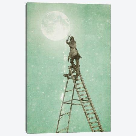 Waning Moon Canvas Print #EFN19} by Eric Fan Canvas Art