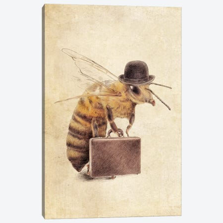 Worker Bee Canvas Print #EFN20} by Eric Fan Canvas Print