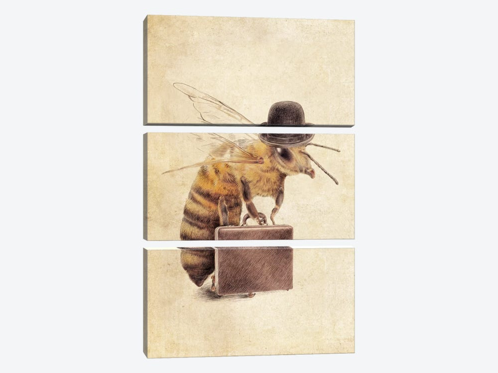 Worker Bee by Eric Fan 3-piece Canvas Print