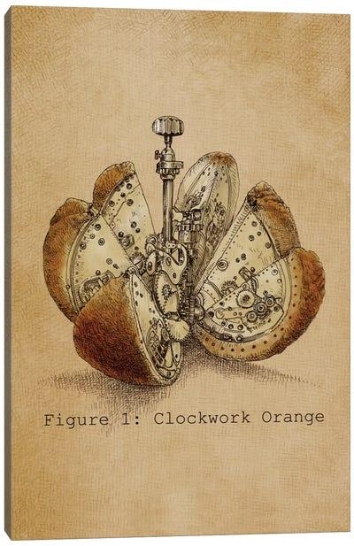 A Clockwork Orange Canvas Art Print