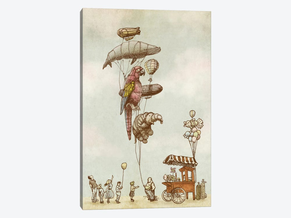 A Day at the Fair by Eric Fan 1-piece Canvas Print