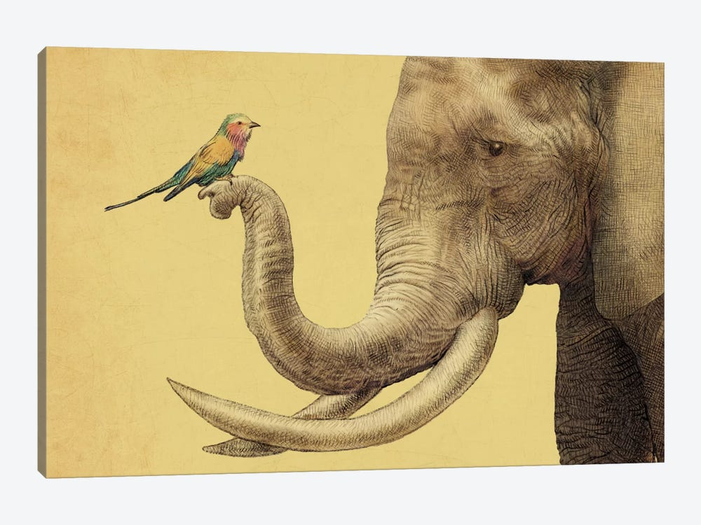 A New Friend by Eric Fan 1-piece Canvas Art Print