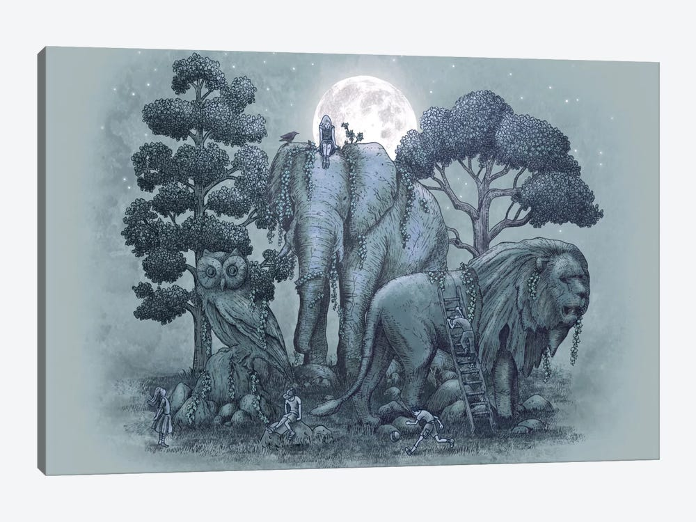 Midnight in the Stone Garden by Eric Fan 1-piece Art Print
