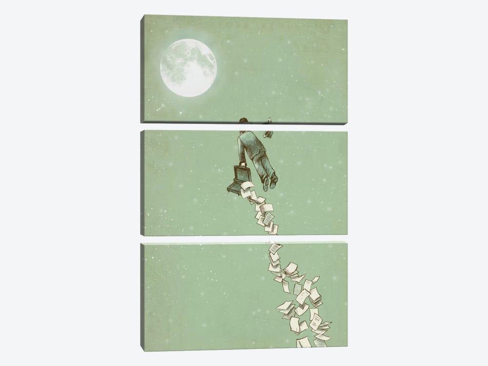 Escape by Eric Fan 3-piece Canvas Print