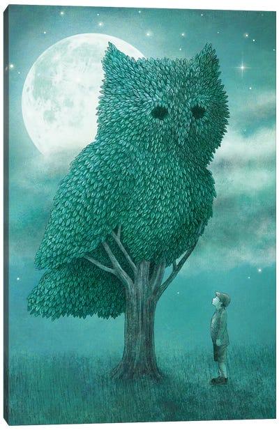 Illustrations From The Night Gardner: Cover Art Canvas Print #EFN52