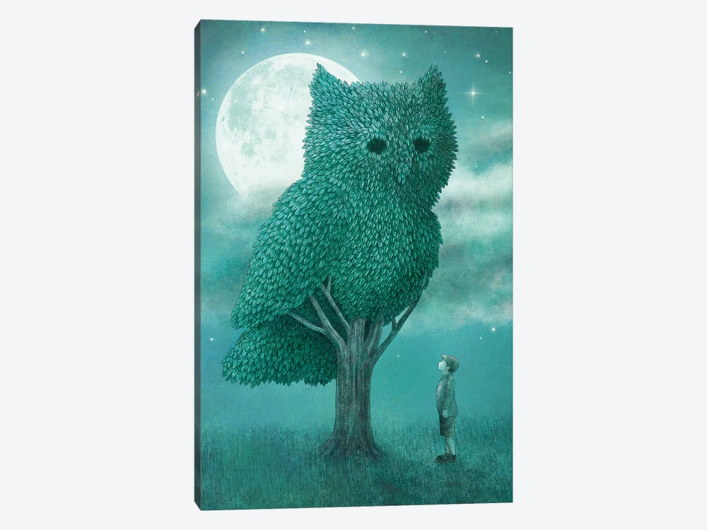 Cover Art by Eric Fan 1-piece Canvas Wall Art