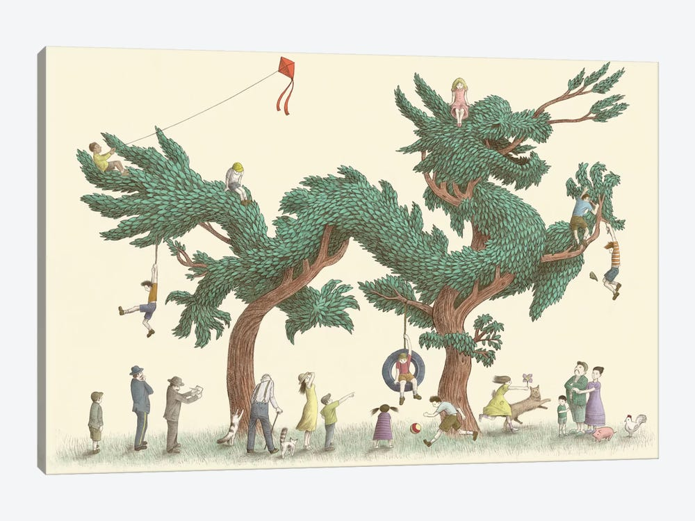 Dragon Tree by Eric Fan 1-piece Art Print