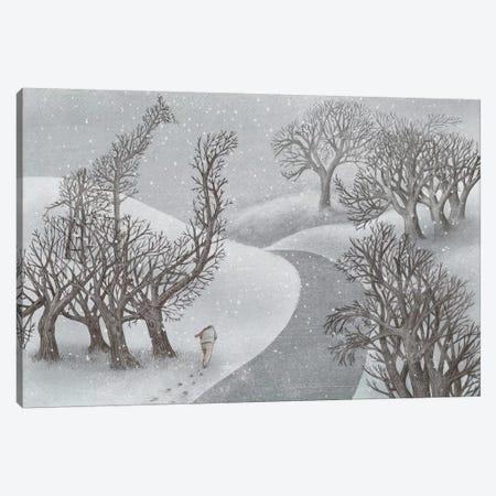 Winter Park Canvas Print #EFN60} by Eric Fan Canvas Print