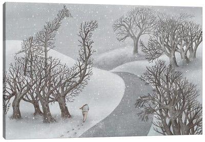 Winter Park Canvas Art Print
