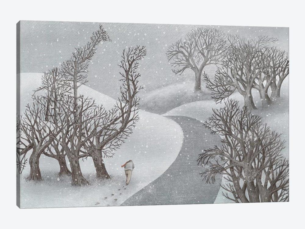 Winter Park by Eric Fan 1-piece Canvas Art Print