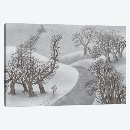 Winter Park Canvas Print #EFN60} by Eric Fan Canvas Print
