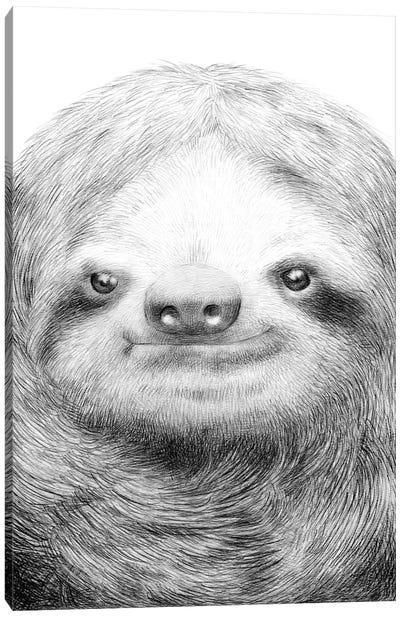 Sloth Canvas Print #EFN62
