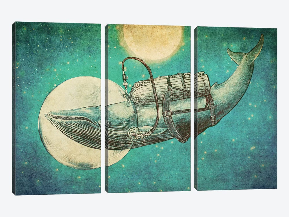 The Journey by Eric Fan 3-piece Canvas Print