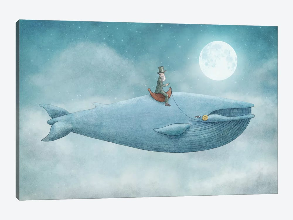 Whale Rider by Eric Fan 1-piece Canvas Art