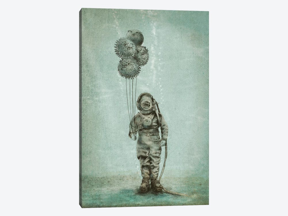 Balloon Fish by Eric Fan 1-piece Canvas Art