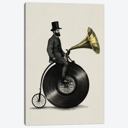 Music Man Canvas Print #EFN6} by Eric Fan Canvas Art