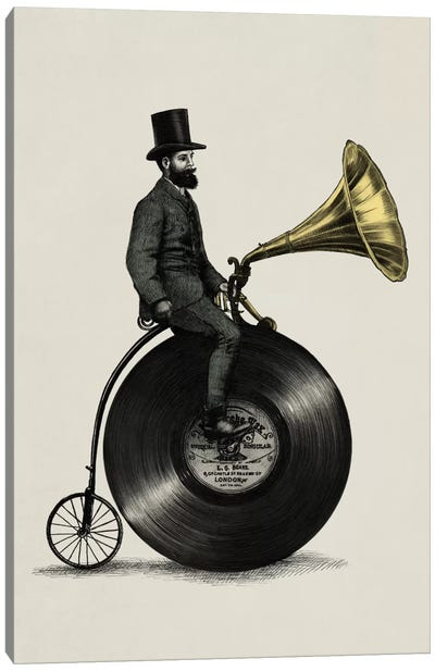 Music Man Canvas Print #EFN6