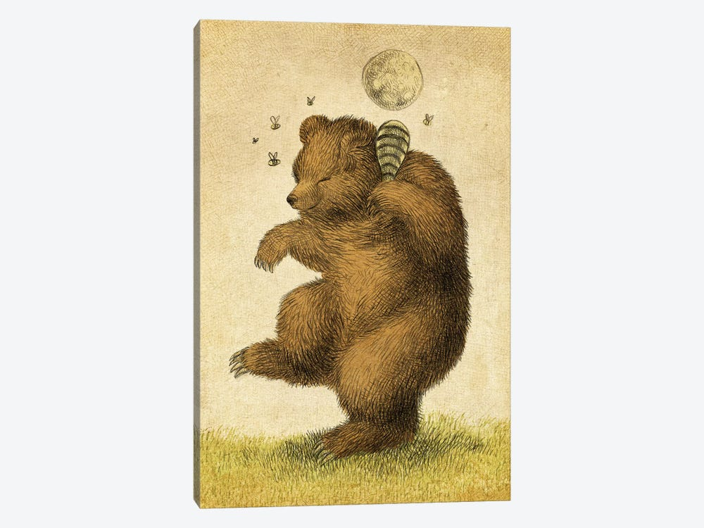 Honey Bear by Eric Fan 1-piece Canvas Artwork