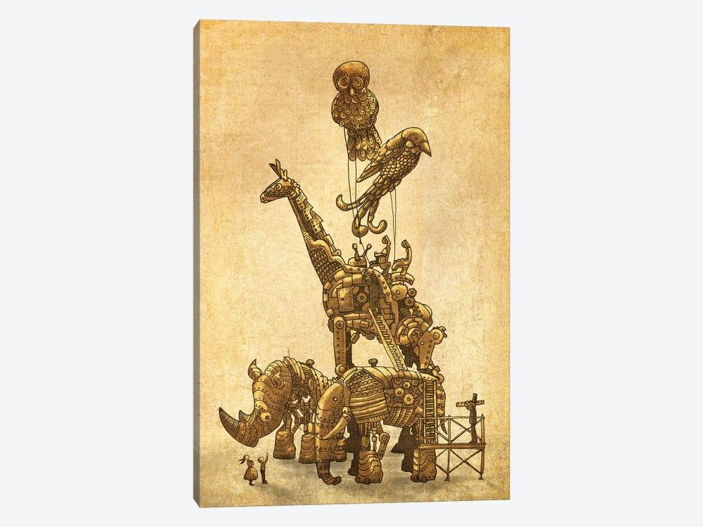 The Clockwork Menagerie by Eric Fan 1-piece Canvas Artwork