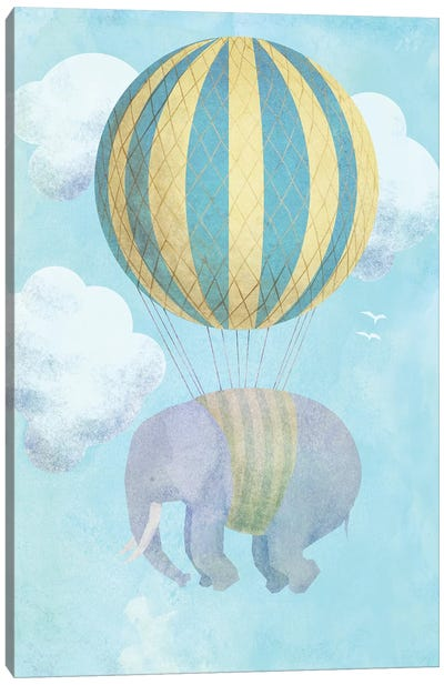 Up And Away Canvas Art Print