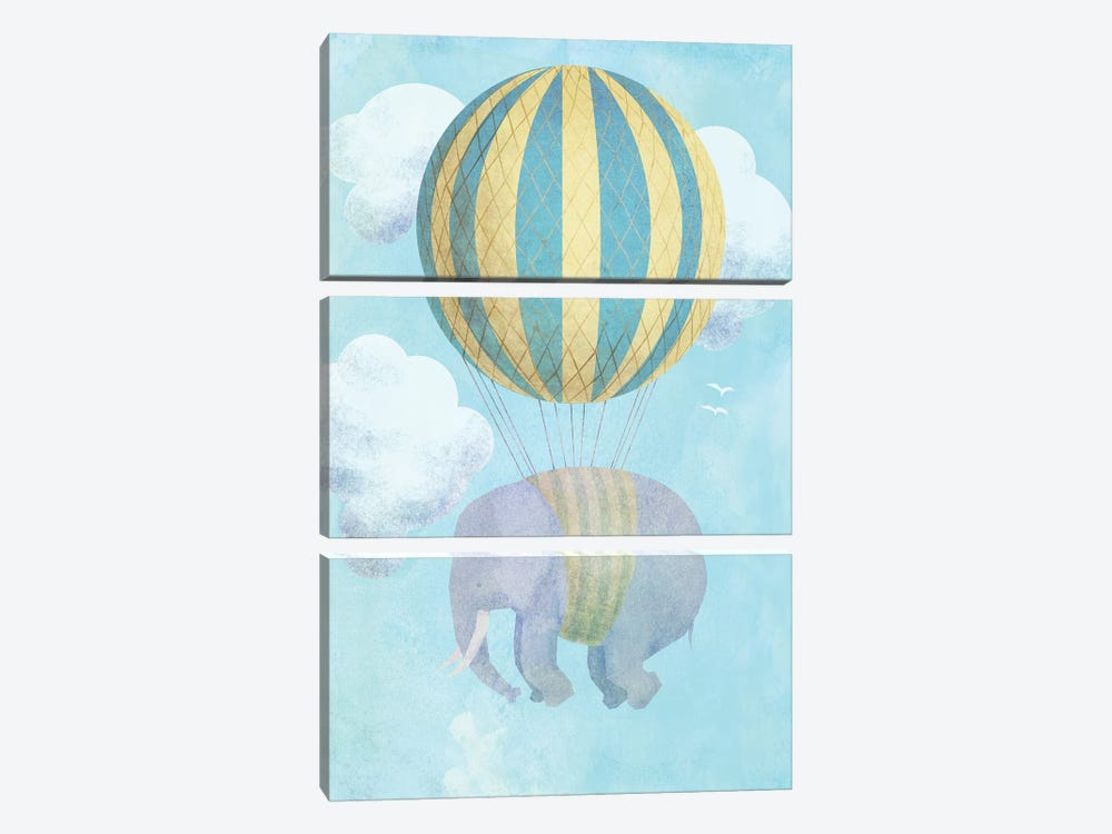 Up And Away by Eric Fan 3-piece Canvas Artwork