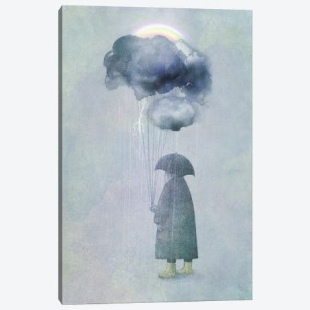 The Cloud Seller Canvas Print #EFN94} by Eric Fan Art Print