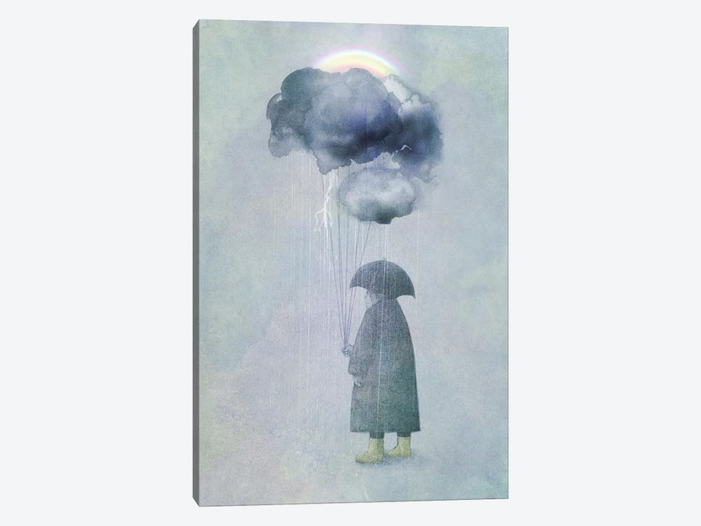 The Cloud Seller by Eric Fan 1-piece Canvas Wall Art