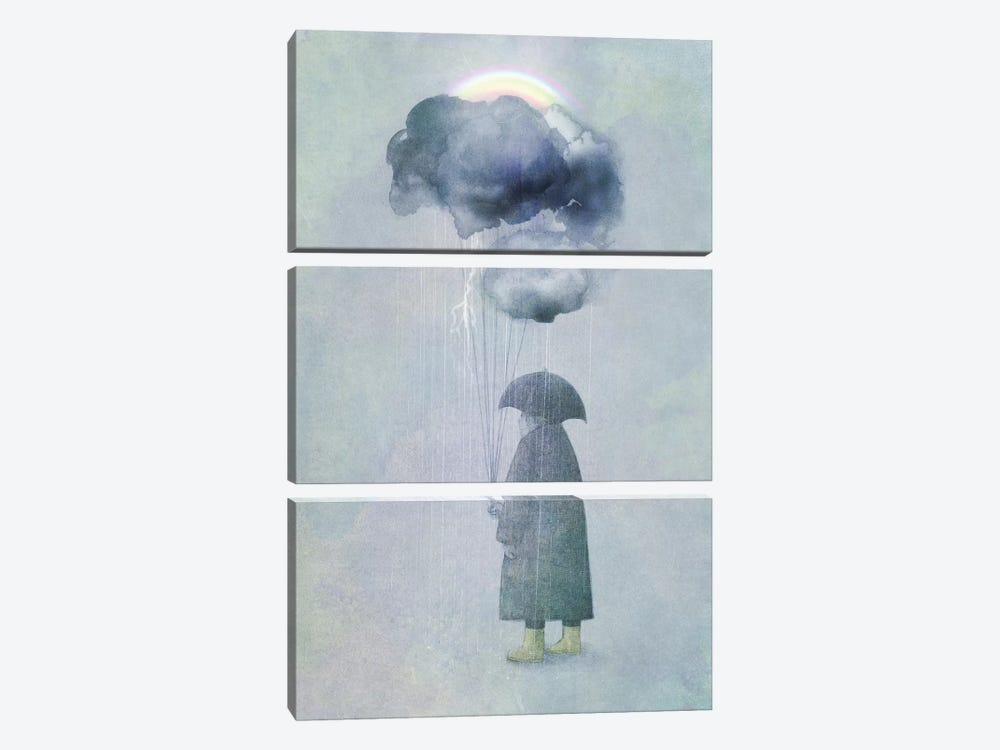 The Cloud Seller by Eric Fan 3-piece Canvas Artwork