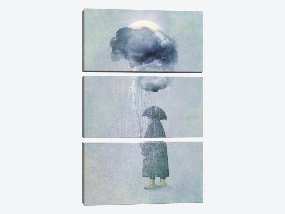 The Cloud Seller by Eric Fan 3-piece Canvas Artwork
