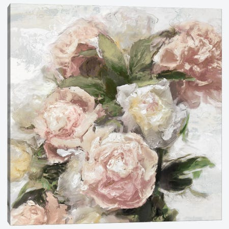 Floral Pastel I Canvas Print #EFO10} by Emily Ford Canvas Art Print