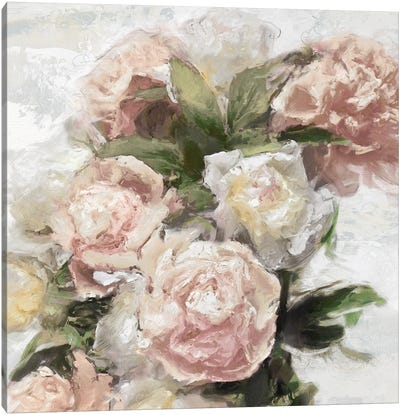 Floral Pastel I Canvas Art Print