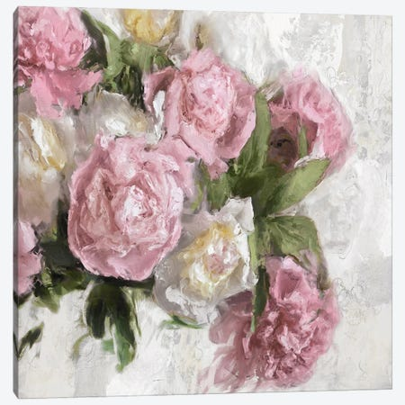 Floral Pink I Canvas Print #EFO12} by Emily Ford Canvas Art Print