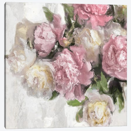 Floral Pink II Canvas Print #EFO13} by Emily Ford Canvas Print