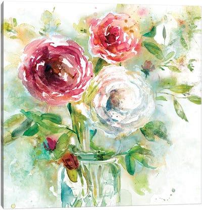 Garden Jar I Canvas Art Print