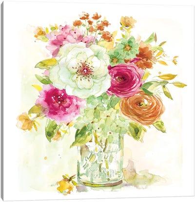 Garden Jar IV Canvas Art Print