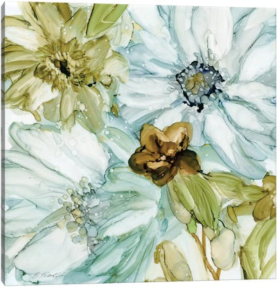Seaglass Garden I Canvas Art Print