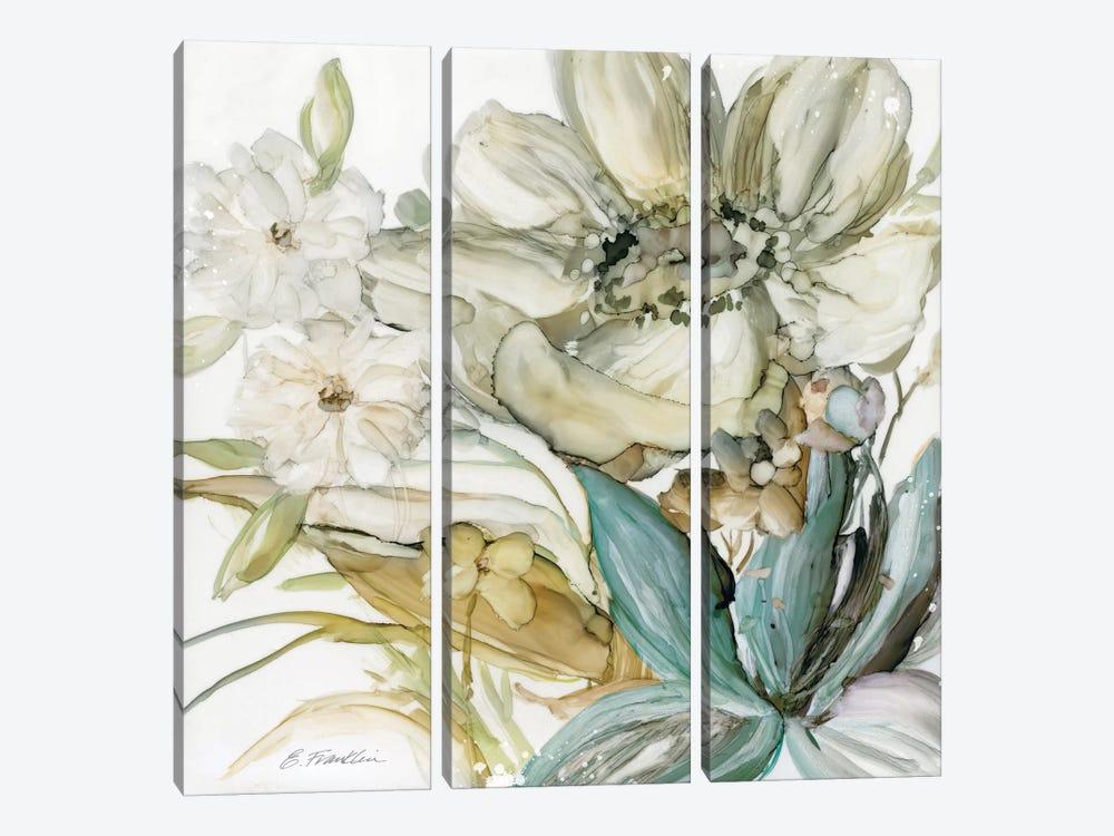 Seaglass Garden II by Elizabeth Franklin 3-piece Canvas Art Print