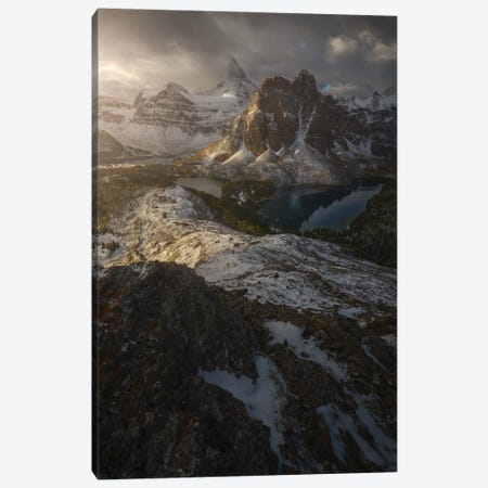 King's Mountain Canvas Print #EFS17} by Enrico Fossati Canvas Wall Art