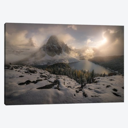 The Northern Reign Canvas Print #EFS27} by Enrico Fossati Art Print