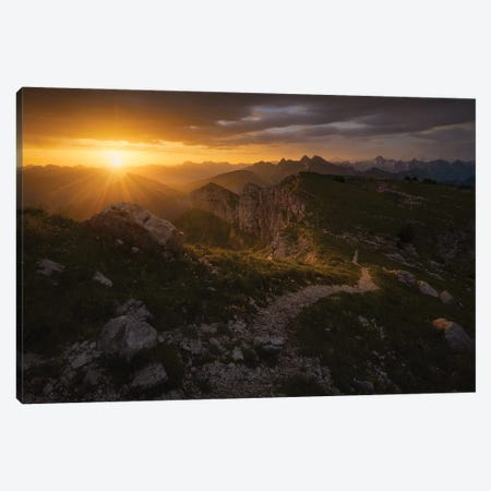 Old Path Of The Gods Canvas Print #EFS44} by Enrico Fossati Canvas Art Print