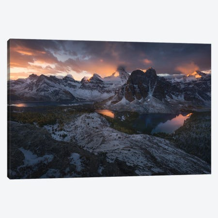 Crowned By Fire Canvas Print #EFS4} by Enrico Fossati Canvas Artwork