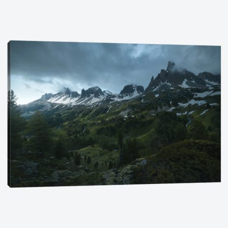 Rainy Days Canvas Print #EFS52} by Enrico Fossati Canvas Art Print