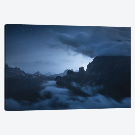 2 Min To Midnight Canvas Print #EFS58} by Enrico Fossati Canvas Art Print