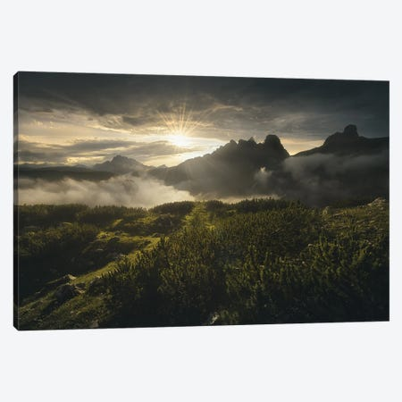 Dol Guldur Canvas Print #EFS61} by Enrico Fossati Canvas Artwork