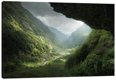 Descent To Rivendell 4 Years Later Canvas Art Print